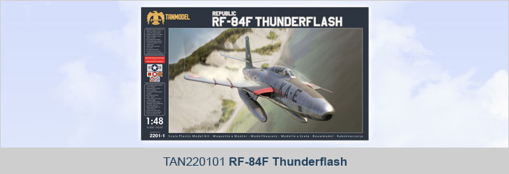 TAN220101 RF-84F Thunderflash