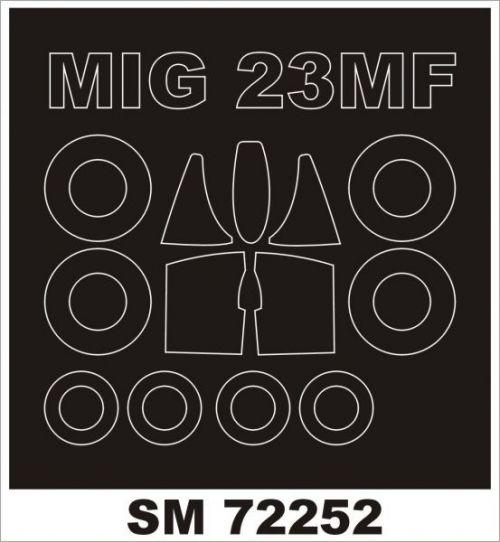 MXS72252 MiG-23MF Flogger-B Maskierfolie