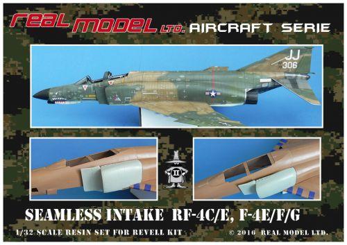 RMA3206 F-4E/EJ/F/G/J Phantom II Seamless Air Intakes