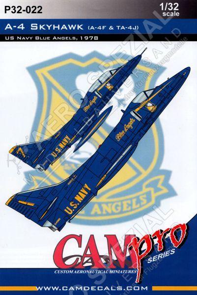 CPS3222 A-4F/TA-4J Skyhawk Blue Angels 1978