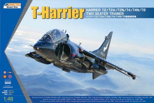 KI48040 Harrier T.2/T.4/T.8 & TAV-8 Harrier