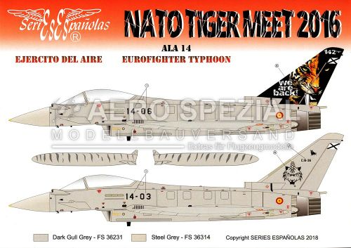 SE3572 Eurofighter Typhoon NATO Tiger Meet 2016
