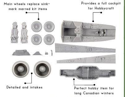 OBS72009 CF-100 Canuck Mk.4/5 Detail Set