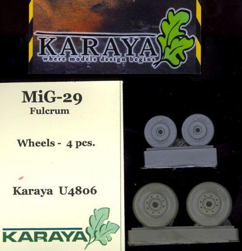 KYU4806 MiG-29 Fulcrum gewichtsbelastete Räder