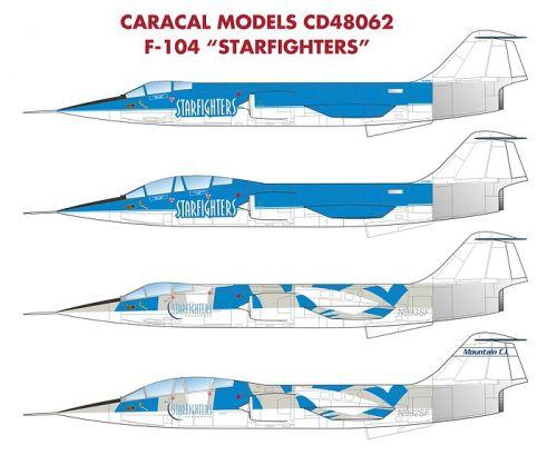 CM48062 F-104 Starfigher zivil