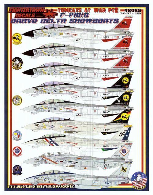 FTD48085 F-14B/D Tomcat Showboats