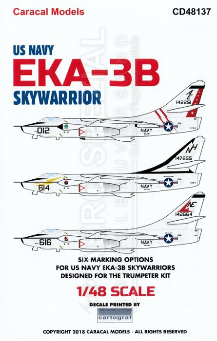 CD48137 EKA-3B Skywarrior