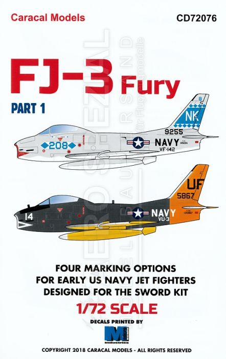 CD72076 FJ-3 Fury Part 1