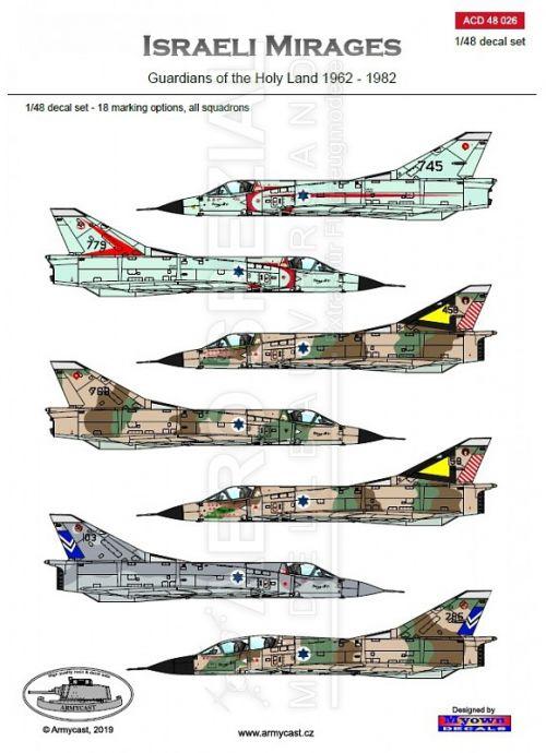 ACD48026 Mirage III Israeli Air Force 1962-1982