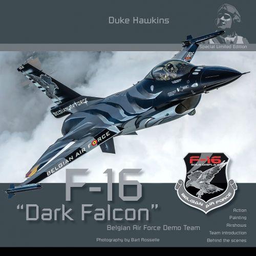 HMHSLE001 F-16 Dark Falcon Belgian Air Force Demo Team
