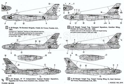 HD48035 Il-28 Beagle