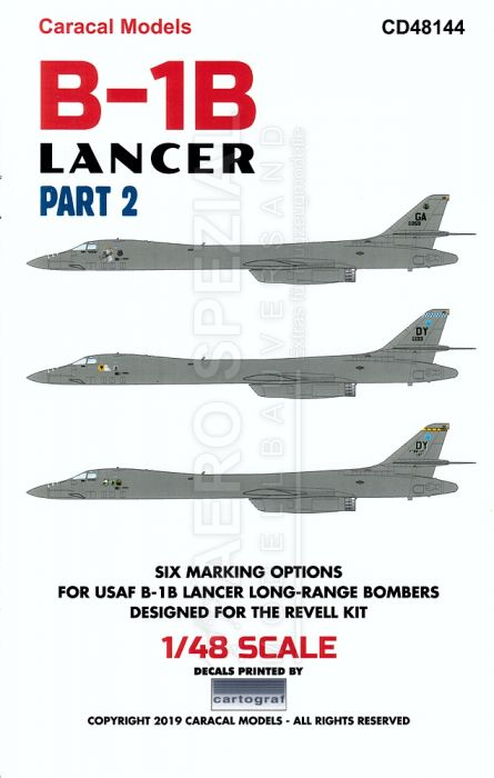 CD48144 B-1B Lancer Teil 2