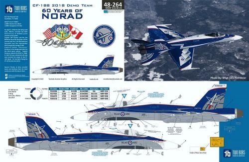 TB48264 CF-188 Hornet 60 Years of NORAD