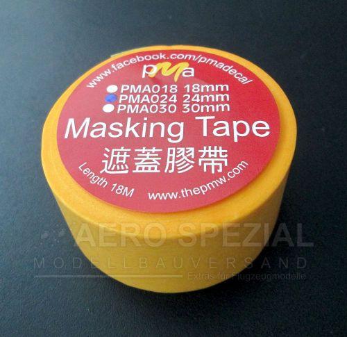 PMAT024 Masking tape 24 mm x 18 m