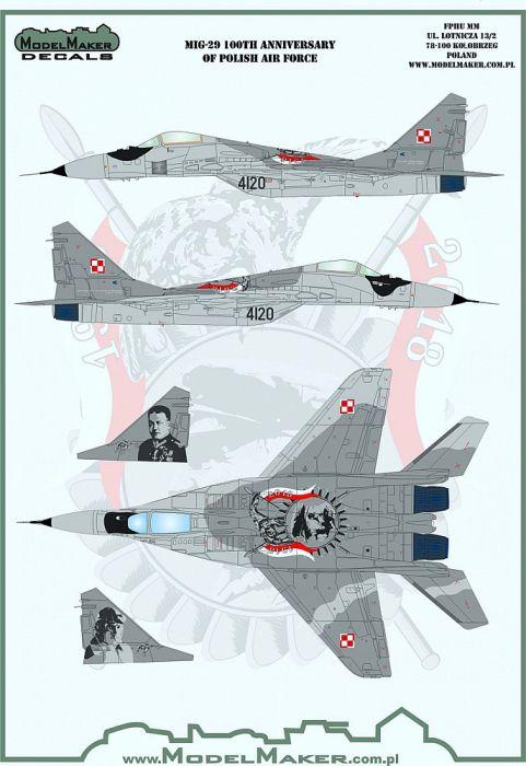 MOD48124 MiG-29G Fulcrum-A polnische Luftwaffe