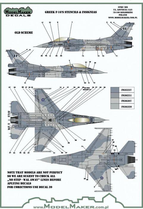 MOD48125 F-16 Fighting Falcon griechische Luftwaffe