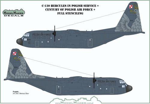 MOD72111 C-130E Hercules polnische Luftwaffe