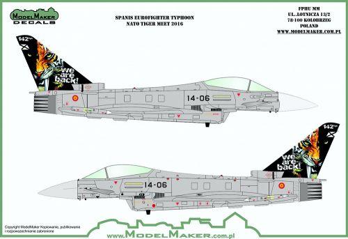 MOD72113 Eurofighter Typhoon spanische Luftwaffe