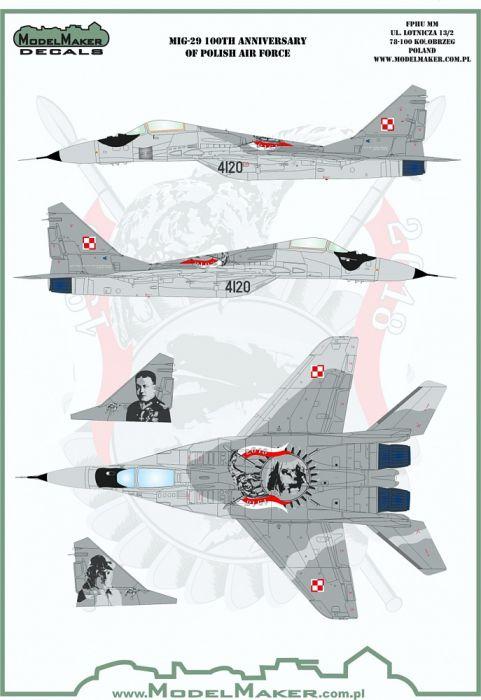 MOD72124 MiG-29G Fulcrum-A polnische Luftwaffe