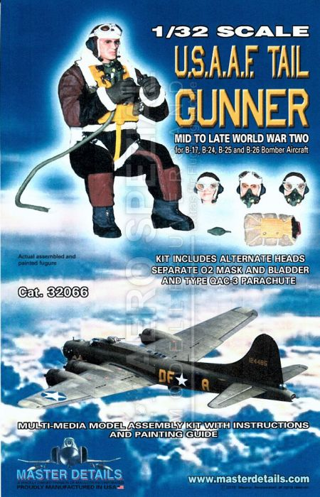 MD32066 Tail Gunner U.S.A.A.F. WW II European Theatre