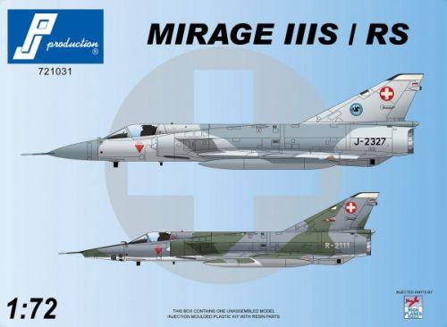PJ721031 Mirage IIIS/RS