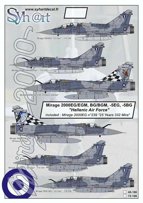 SY72106 Mirage 2000 griechische Luftwaffe