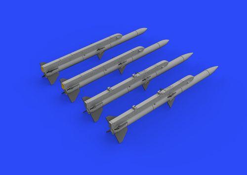 EBR72220 AIM-120A/B AMRAAM Luft-Luft-Rakete