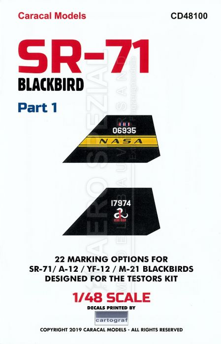 CD48100 SR-71 Blackbird Teil 1