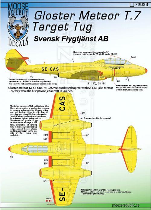 MRD7223 Meteor T.7 Zielschlepper Schweden