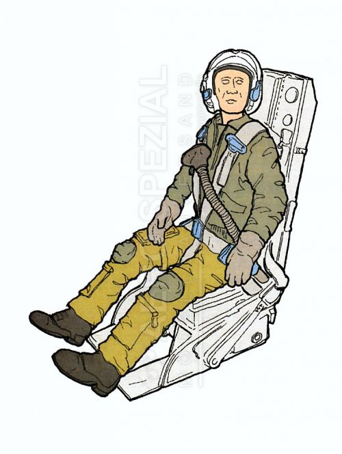 AB32137 Jet Pilot NATO in C-2 Ejection Seat for F-104C/G Starfighter