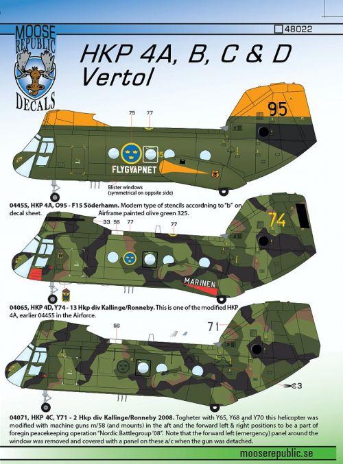 MRD4822 HKP 4A/B/C/D (CH-46)