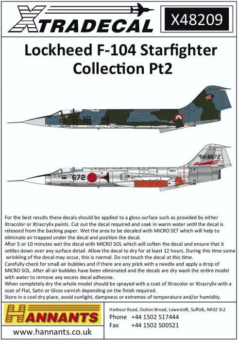 XD48209 F-104 Starfighter Part 2