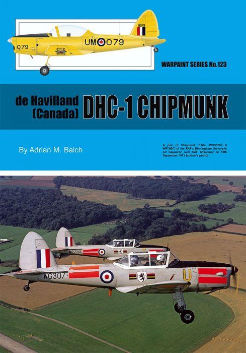 WT123 de Havilland (Canada) DHC-1 Chipmunk