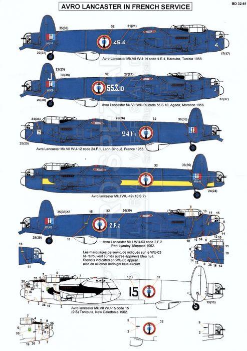 BD32061 Lancaster französische Marine