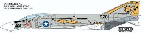 CMS4847 F-4J Phantom II VF-33 Tarsiers