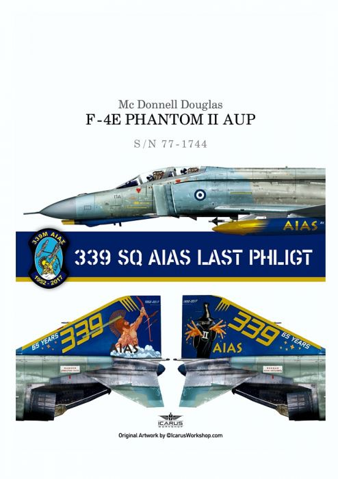 PRO48902 F-4E AUP Phantom II Last Flight