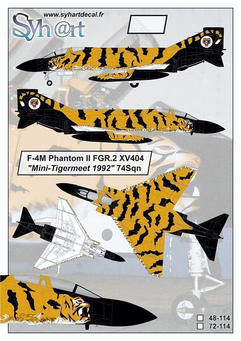 SY72114 Phantom FGR.2 NATO Tiger Meet 1992