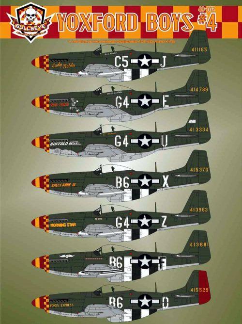 BMA48012 P-51D Mustang Yoxford Boys Part 4