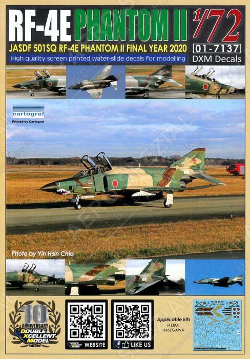 DXM72037 RF-4E Kai Phantom II JASDF Final Year 2020