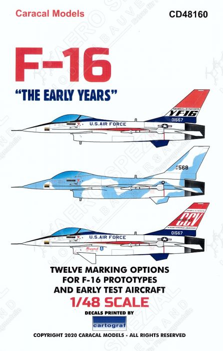 CD48160 F-16 Fighting Falcon - The Early Years