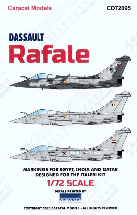 CD72095 Rafale D/E International Air Forces