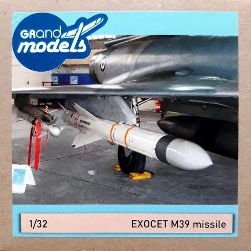 GM32002 Exocet AM39 Anti-Schiff-Rakete