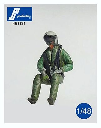 PJ481131 Eurofighter Pilot, seated
