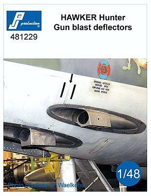 PJ481229 Hunter F.6 ADEN Cannon Gun Blast Deflectors