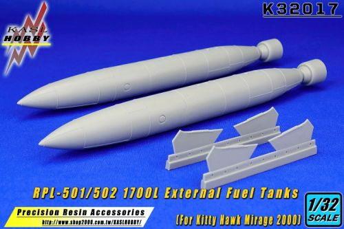 KH32017 RPL-501/502 1,700 l External Fuel Tanks