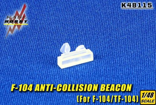 KH48115 F/TF-104G Starfighter Anti-Collision Beacons