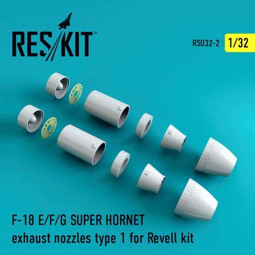 RSU320002 F/A-18E/F Super Hornet Exhaust Nozzles Type 1