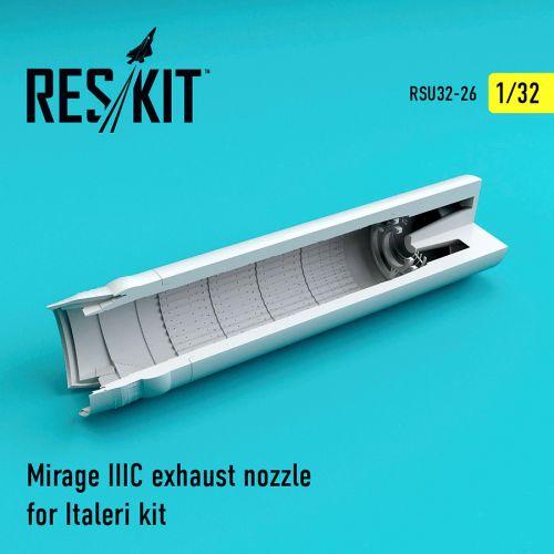 RSU320026 Mirage IIIC Exhaust Nozzle