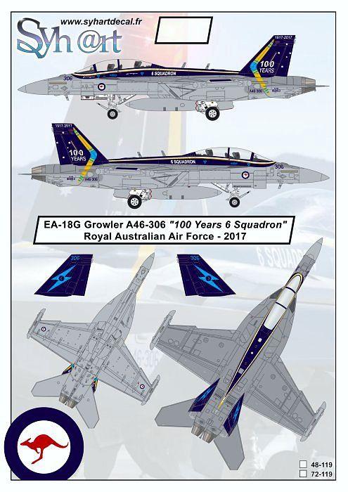 SY48119 EA-18G Growler Royal Australian Air Force