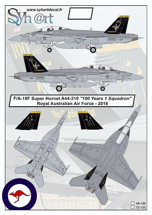 SY72120 F/A-18F Super Hornet Royal Australian Air Force